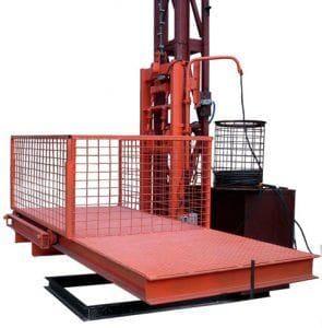 строительный грузовой подъемник